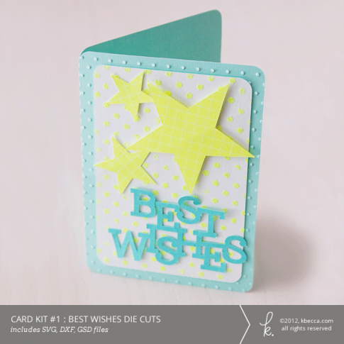 Card Kit #1 : Best Wishes
