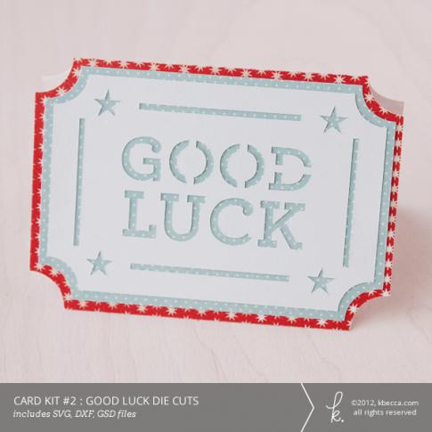 Card Kit #2 : Good Luck