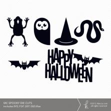 MC Spooky Die Cuts