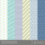 Happy Hanukkah Patterned Papers