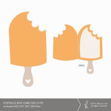 Bitten Popsicle Card Die Cuts | k.becca