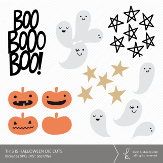 This Is Halloween Die Cuts | K.becca #svg #diecuts