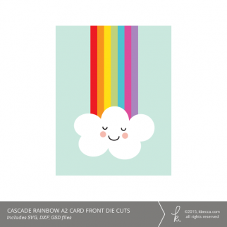 Cascade Rainbow A2 Card Kit