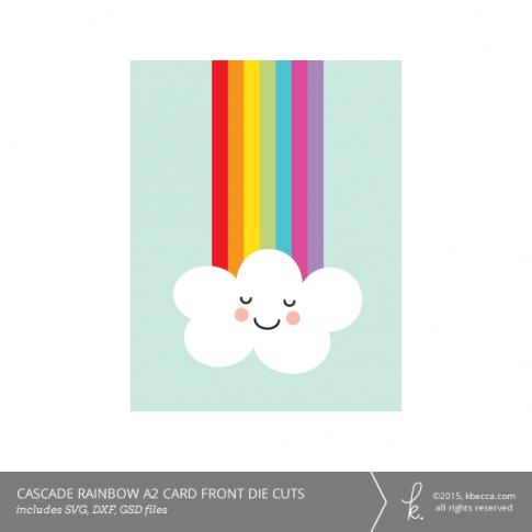 Cascade Rainbow A2 Card Kit
