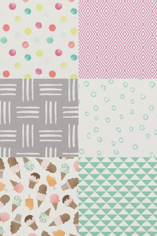 K.becca for Zazzle Fabric Designs