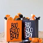 DIY Quick & Easy Die Cut Halloween Treat Bags