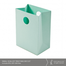 Scallop Treat Bag Die Cut Files (Commercial License Available)