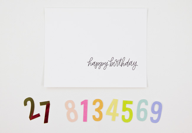 Print & Cut Birthday Card Tutorial with Silhouette Studio, Step 1