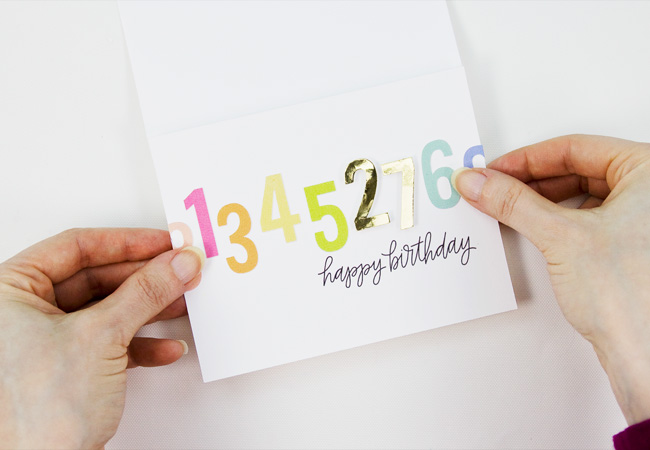 Print & Cut Birthday Card Tutorial with Silhouette Studio, Step 7