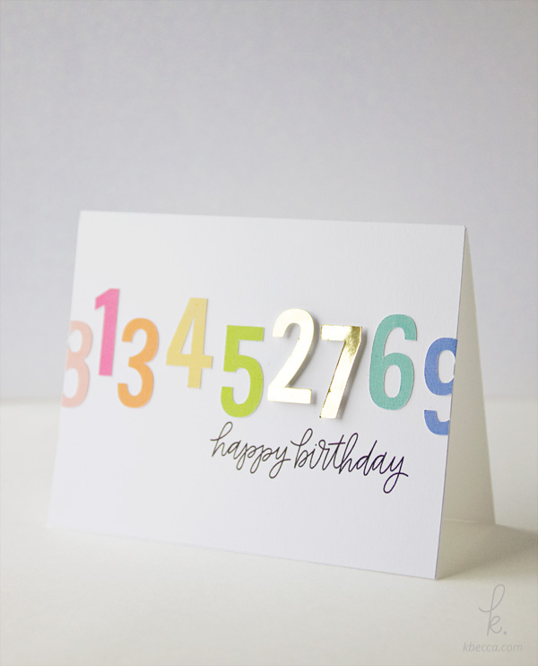 Make a Print & Cut Birthday Card - Silhouette Studio Tutorial