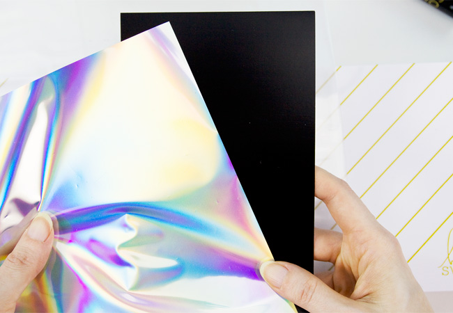 DIY Iridescent Foil Birthday Card Tutorial (Minc Foiling)