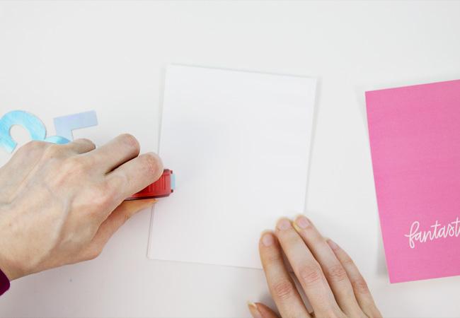 DIY Iridescent Foil Birthday Card Tutorial