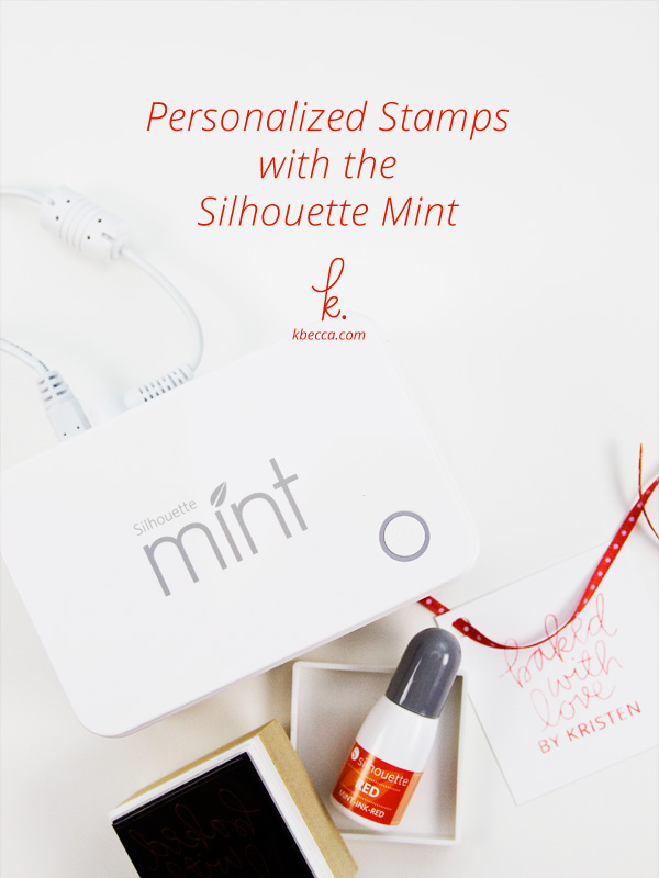 How to Make a Personalized Stamp with the Silhouette Mint