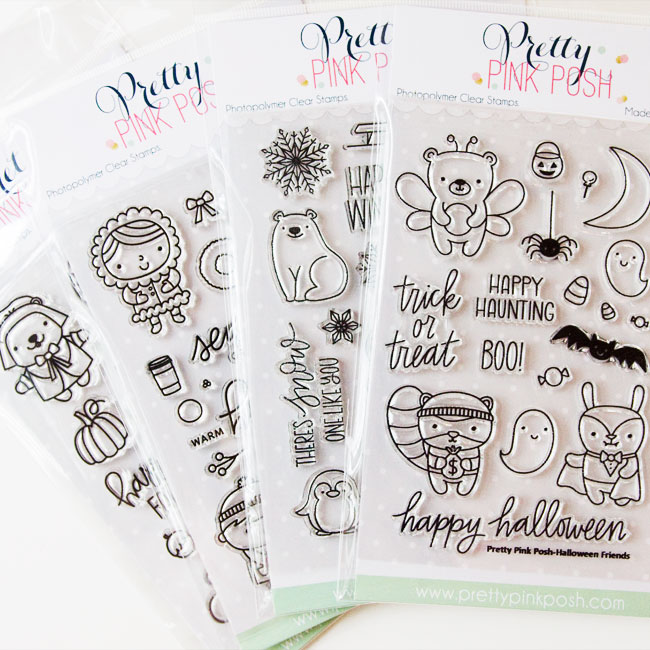 K.becca Exclusive Stamp Designs for Pretty Pink Posh