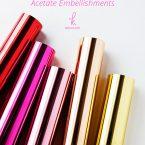 Video : How to Make Print & Cut Hot Foil Acetate Embellishments