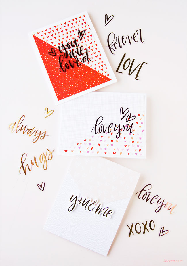 Video : Hybrid Cardmaking with Love Always Digital Collection