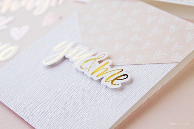 Clean and Simple Hybrid Cardmaking with Love Always Digital Collection from k.becca