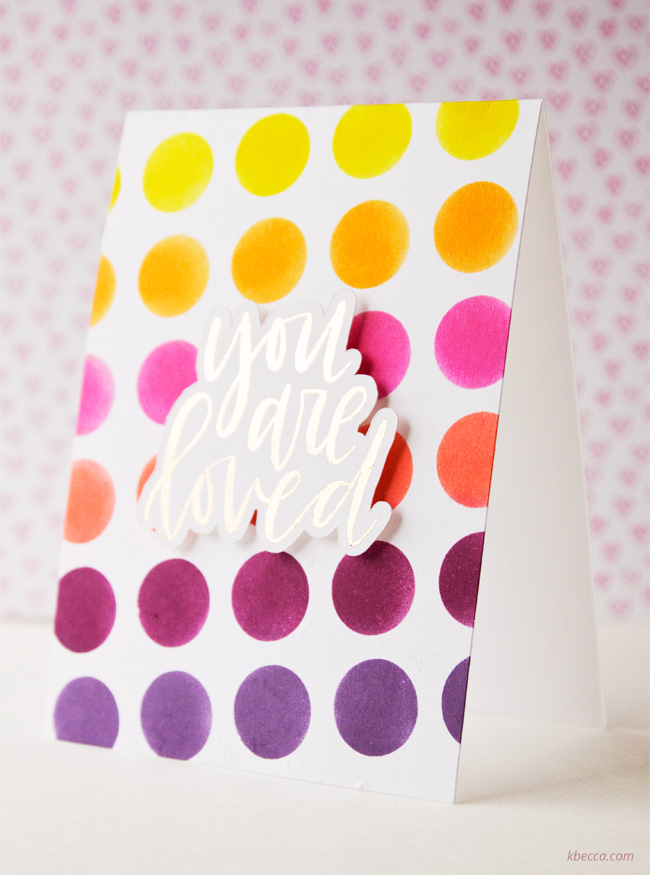 Video : Distress Ink Stenciled Background with Silhouette Adhesive Stencil Sheets