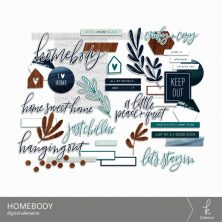 Homebody Digital Elements from k.becca