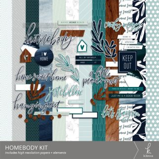 Homebody Digital Kit from k.becca