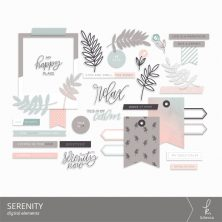 Serenity Digital Elements from k.becca