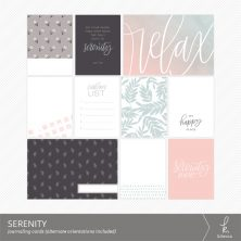 Serenity Journaling Cards from k.becca