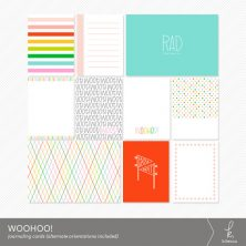 Woohoo! Journaling Cards from k.becca