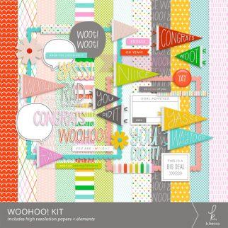 Woohoo! Digital Kit from k.becca