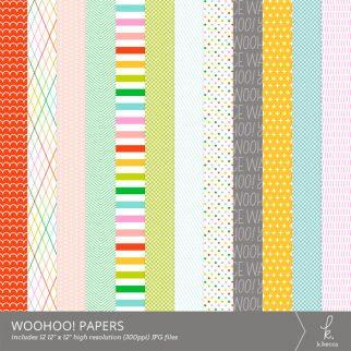 Woohoo! Digital Patterns from k.becca