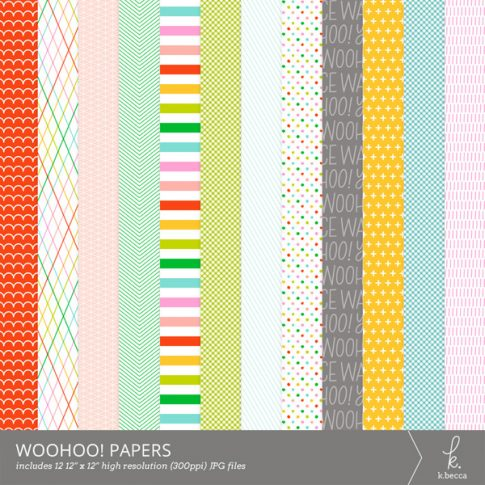 Woohoo! Digital Patterns from k.becca