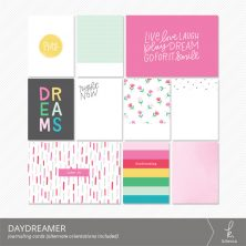 Daydreamer Journaling Cards from k.becca
