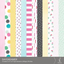 Daydreamer Digital Patterns from k.becca (Commercial Licensing Available)