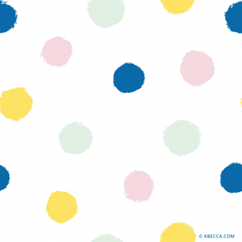 Brush Dots Clip Art Pattern (Vector Included) | kbecca.com