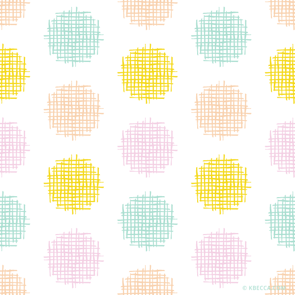 Crosshatch Dots Clip Art Pattern (Vector Included) | kbecca.com