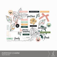 Everyday Charm Digital Elements from k.becca