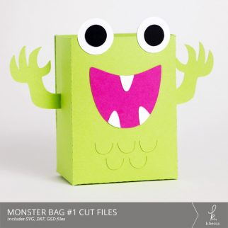 Monster Bag Box #1 Cut Files from k.becca