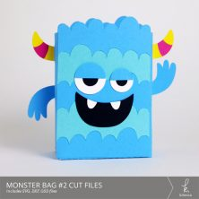 Monster Bag Box #2 Cut Files from k.becca