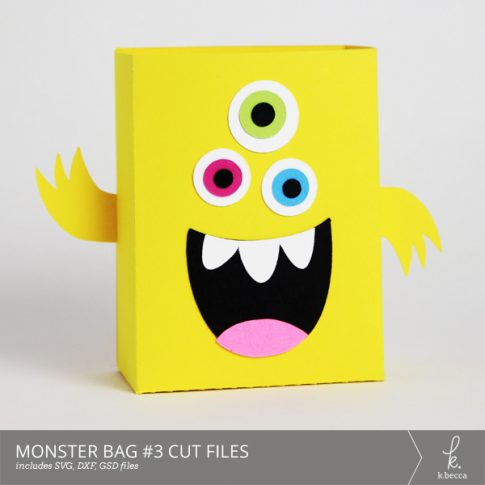 Monster Bag Box #3 Cut Files from k.becca