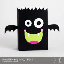 Monster Bag Box #4 Cut Files from k.becca