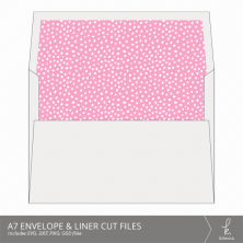 A7 Envelope & Liner Cut Files from k.becca (Commercial Licensing Available)