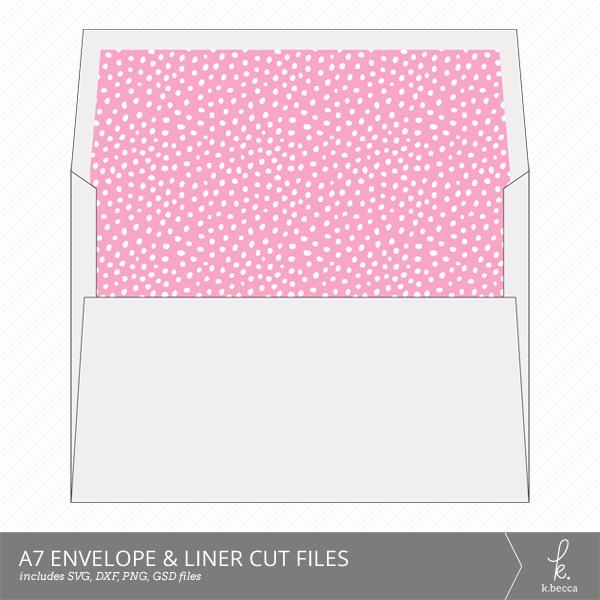 a7 envelope  u0026 liner cut files