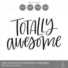 Totally Awesome SVG Files (Commercial Licensing Available) #svg #svgfiles #silhouettecameo #cricut