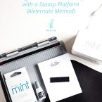 How to Use Silhouette Mint Stamps with a Stamp Platform (Alternate Method)