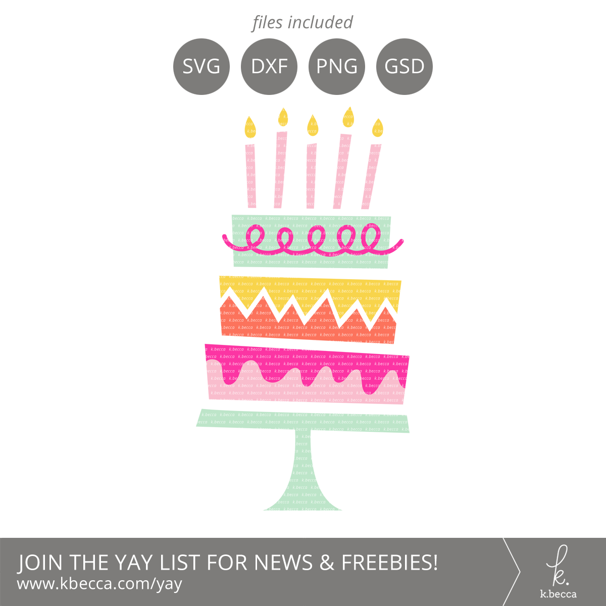 Birthday Cake Svg Files Commercial Licensing Available