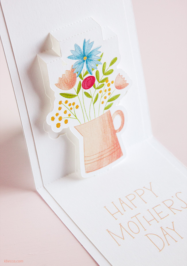 How to Make Print & Cut Pop Up Cards in Silhouette Studio 4.1 #silhouettecameo
