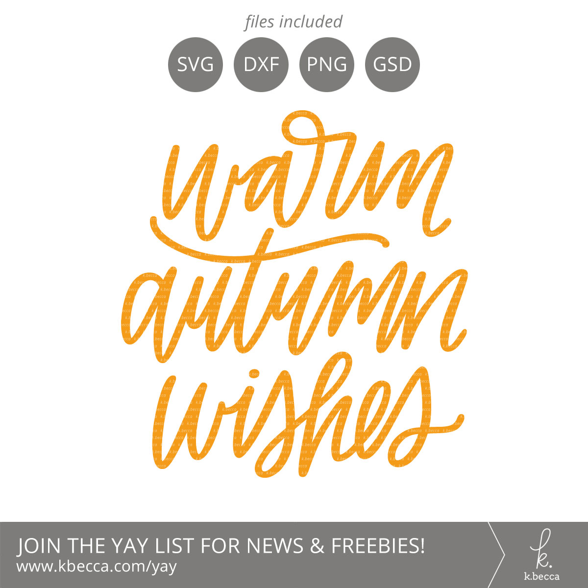 Warm Autumn Wishes SVG Cut Files (Commercial License Available) #svgfiles #silhouettecameo #cutfiles