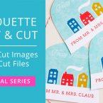 How to Make Print & Cut Files from Regular Cut Files in Silhouette Studio #silhouettecameo #svgfiles #printandcut