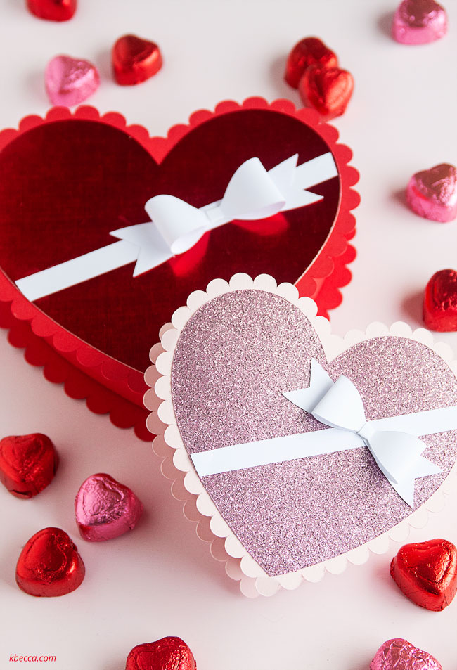 Scalloped Heart Box SVG File Assembly Tutorial (Video)