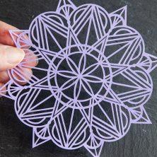 Art Deco Mandala SVG Cut Files #svgfile #svgfiles #cutfile #cutfiles #silhouettecameo #cricut