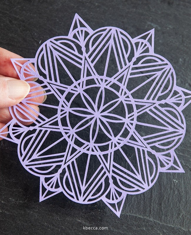 New in the Shop : Mandala Cut Files